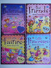 Sticker Scenes Fun Book with over 100 Supersized Stickers (Choice of 4)