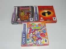 Nintendo Game Boy Advance GBA Puzzle Adventure Game Games - Choose From List