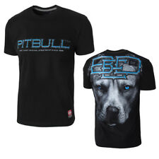 Pit Bull West Coast Camiseta Hombre Azul Eyed Devil Negro California