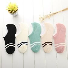 Classic Striped Cotton Short Socks Women Summer Thin Ankle Socks Female Art Funn
