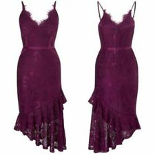 BNWT New LIPSY Black Lace Cut Out Back Appliqué Fit & Flare Skater Dress 10