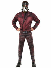 Star-Lord Deluxe Muscle Marvel Guardians Of The Galaxy Superhero Mens Costume