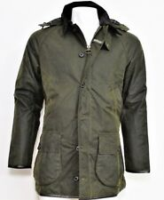 Barbour Uomo Men's Barbour Longhurst Waxed Jacket BACPS1474 OLIVE 2018/19