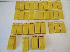 Hellermann Tyton WIC3 Cable Markers Size 3, YELLOW, packs of 100 of each type