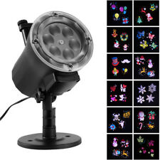 Outdoor Moving LED Laser Projector Landscape Lamp Xmas Light For Party Garden UK