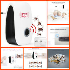 Electronic Pest Repeller Ultrasonic Rejector Mouse Mosquito Bug Insect Pest Mice