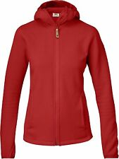 Fjällräven Abisko Fleece Hoodie  89604 red Damen Fleece Jacke Hoody Midlayer