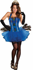 Royal Paon Adulte Femmes Costume Corset Sexy Plumes Tiare Fête Halloween