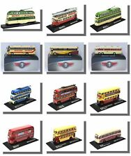 Buses, Coaches, Trams, Trolleybuses, 1/76 Scale, Atlas Editions.