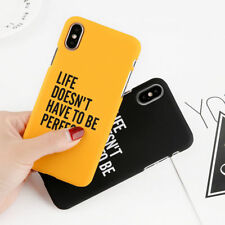 Simple Carta Patten PC Rígido dura Funda Carcasa Case Para IPhone X 6 s 7 8 Plus