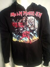 Originale Iron Maiden 666 Number Of The Beast ' Uomo Rock Metal