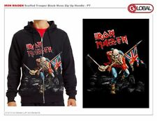 Originale Iron Maiden Effetto Consunto Trooper Heavy Metal Rock Musica