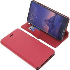 Cover for Doogee Mix book-style red case