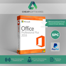 Microsoft Office MS Office 2016 Professional Plus 1-5 PC, produktkey per email
