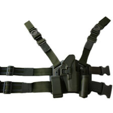 Amry Tactical Pistol Glcok 17 Leg Holster Hunting Airsoft Quick Drop G19 Holster