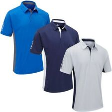 Stuburt Deporte para Hombre Tech Panel Manga Corta Performance Polo de Golf