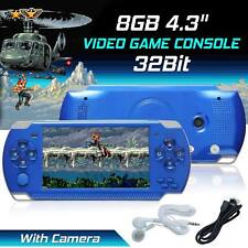 """32Bit Built-In 4.3"""" Portable 10000 Games Video Handheld 8GB Game Console Player"""