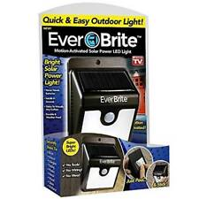 Ever Brite Outdoor Patio Garden Motion Activated Solar Power LED Light