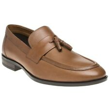 New Mens Red Tape Tan Lumley Leather Shoes Loafers And Slip Ons On