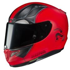 HJC CASCO INTEGRALE FIBRA PIM RPHA11 DEADPOOL 2 MC1SF VARIE TG DISPONIBILI