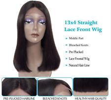 REMY HAIR ___PERRUQUE LACE FRONT WIG CHEVEUX NATURELS 100% BRESILIENS