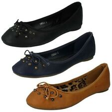 Mujer Spot On Zapatos Informales Planos Label F8864