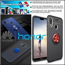 Etui Coque housse Ring Metal TPU Soft Gel Protection Case Cover Huawei Honor