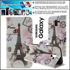 Etui Coque Housse Cuir PU Leather Stand Wallet Case Cover Samsung Galaxy J4 2018