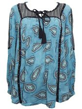 'Style & Co.' Women's Designer Plus size Long Sleeve Light Peasant style Top