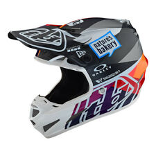 2019 Troy Lee Designs SE4 Team Jet Red/Yellow MIPS Helmet - All Sizes