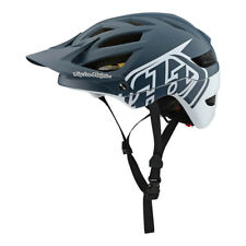 Troy Lee Designs A1 Classic Gray/White MIPS Mountain Bike Helmet - All Sizes