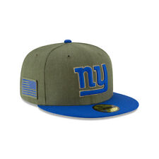 New Era NFL NEW YORK GIANTS Salute to Service 2018 Sideline 59FIFTY Game Cap NEU