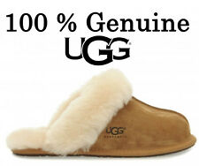 UGG - SCUFFETTE - CHESTNUT - GENUINE SHEEPSKIN SLIPPERS