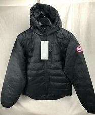 NEW CANADA GOOSE LODGE JACKET HOODY 5055M S-XXL DOWN AUTHENTIC HOLOGRAM BLACK