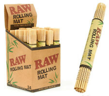 RAW NATURAL BAMBOO ROLLING MAT FOR TOBACCO TRAY PAPERS