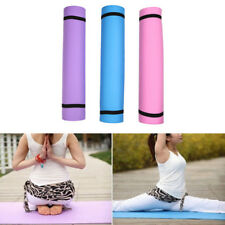4mm Thickness Yoga Mat Non-slip Exercise Pad Health Lose Weight Fitness Durable