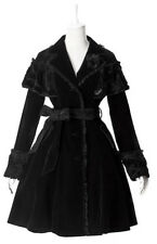 Black jacket gothic and lolita velvet with embroidery pyon pyon Pyon Pyon