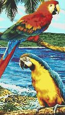 BEAUTIFUL PAIR OF MACAWS # 2 - COUNTED CROSS STITCH CHART