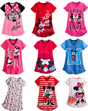 Disney Store Minnie Mouse Mickey Mouse Mujer Camisón Camisón
