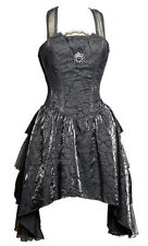 Black dress pans with layers on the sides floral patterns with br Pentagramme