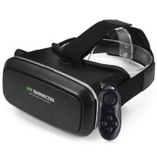 "VR SHINECON 3D Virtual Reality Goggles Video Games Glasses for 4.7-6"" Smartphone"