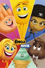 The Emoji Movie Star Characters Maxi Poster 61 x 91,5 cm