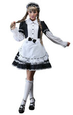 Dress black and white gothic lolita soubrette with headband glp glp