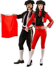Couples Ladies AND Mens Deluxe Matador Bull Fighter Fancy Dress Costumes Outfits