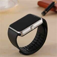 GT08 Bluetooth Smart Watch Wrist Phone Camera SIM TF-Card slot for iOS & Android