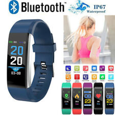 Sports Blood Pressure/Oxygen Heart Rate Fitness Tracker Smart Watch Bracelet CHZ