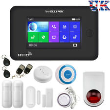 Wireless Full Touch Screen GSM WiFi Smart Home Burglar Security Alarm System UK