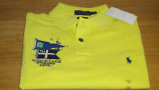 New Ralph Lauren Polo Shirt Custom Slim Fit Yellow size Large, XL & XXL Superb!!