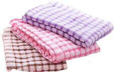 Terry Tea Towels 100% Cotton Pack of 2 to 12 Large Kitchen Cleaning Drying Cloth