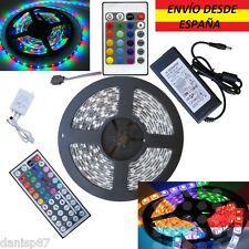 Tiras Led 5050/3528 300Led Blanco/RGB/Colores,Controlador,Transformador 12v